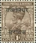 [King George V, 1865-1936 - India Postage Stamps Overprinted, type C11]