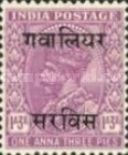[King George V, 1865-1936 - India Postage Stamps Overprinted, type C12]