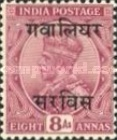 [King George V, 1865-1936 - India Postage Stamps Overprinted, type C15]