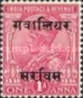 [King George V, 1865-1936 - India Postage Stamps Overprinted - 10mm between Overprint, type C2]