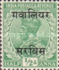 [King George V, 1865-1936 - India Postage Stamps Overprinted, type C9]