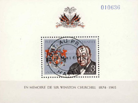 [Airmail - Churchill Commemoration, Typ ]