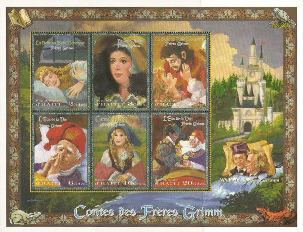 [The 175th Anniversary of 3rd Collection of Fairy Tales by Brothers Grimm, Typ ]