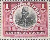 [Issue of 1906 with Value in Centimes de Gourde, type AB]