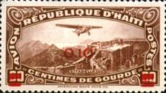 [Airmail - Previous Stamp Surcharged, Typ AY6]