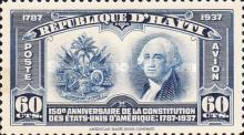 [Airmail - The 150th Anniversary of U.S. Constitution, type BH]