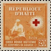 [Airmail - Red Cross Stamps, type BM9]