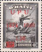 [Airmail - The 75th Anniversary of U.P.U. - Overprinted