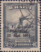 [Re-election of President Duvalier - Overprinted