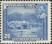 [Airmail - Projects realized by President Magloire, type CH]