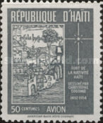 [Airmail - Columbus's Drawing of Fort de la Nativite, type DK1]