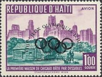 [Airmail - Olympic Games - Issues of 1959 Overprinted with Olympic Rings and