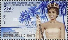 [Airmail - Election of Miss Claudinette Fouchard,
