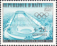 [Olympic Games - Rome, Italy - Issues of 1960 Surcharged, Typ FN1]