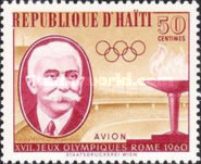 [Airmail - Olympic Games - Rome, Italy, type FO]