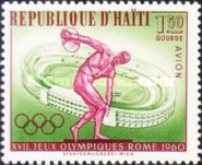 [Airmail - Olympic Games - Rome, Italy, type FP]