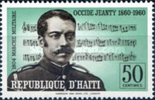 [The 100th Anniversary of the Birth of Occide Jeanty, Composer, 1860-1936, Typ FT]