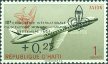 [The 18th World Scout Conference, Lisbon - Issues of 1960 Overprinted