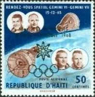 [Winter Olympic Games - Grenoble, France - Issues of 1966 Overprinted