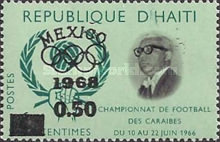 [Olympic Games - Mexico - Issues of 1966 Overprinted
