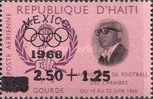 [Airmail - Olympic Games - Mexico - Issues of 1966 Overprinted