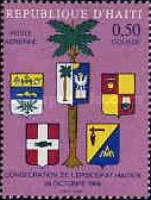 [Airmail - Consecration of Haitian Bishopric, Typ JD1]