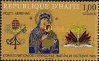 [Airmail - Consecration of Haitian Bishopric, Typ JE1]
