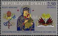 [Airmail - Consecration of Haitian Bishopric, Typ JE2]