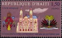 [Airmail - Consecration of Haitian Bishopric, Typ JF1]
