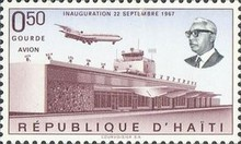 [Airmail - Inauguration of Duvalier Airport, Port-au-Prince, Typ JH]