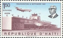 [Airmail - Inauguration of Duvalier Airport, Port-au-Prince, Typ JH1]