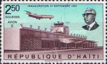 [Airmail - Inauguration of Duvalier Airport, Port-au-Prince, Typ JH2]