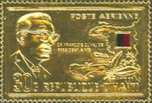 [Airmail - The 4th Anniversary of Francois Duvalier's