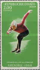 [Airmail - Winter Olympic Games - Grenoble, France - Medal Winners, Typ JS]