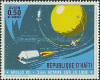 [Airmail - The 2nd Manned Lunar Landing - Apollo 12, Typ NO]