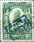 [President Nord Alexis - External Mail - Overprinted