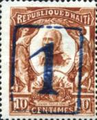 [Issues of 1904 Surcharged, Typ O23]