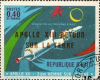 [Successful Return of Apollo 13 - Issues of 1970 Overprinted