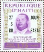 [Airmail - Wedding of President Duvalier - Issues of 1974 Overprinted