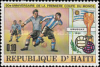 [The 50th Anniversary of First Football World Cup in Uruguay, Typ SA]