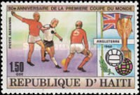 [Airmail - The 50th Anniversary of First Football World Cup in Uruguay, Typ SH]