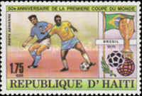[Airmail - The 50th Anniversary of First Football World Cup in Uruguay, Typ SI]