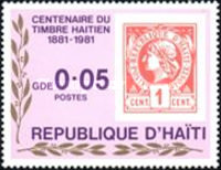 [The 100th Anniversary of Stamps of Haiti, Typ TL]
