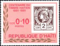 [The 100th Anniversary of Stamps of Haiti, Typ TM]