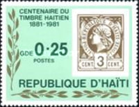 [The 100th Anniversary of Stamps of Haiti, Typ TN]