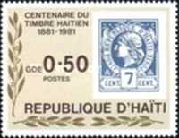 [The 100th Anniversary of Stamps of Haiti, Typ TO]