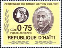 [Airmail - The 100th Anniversary of Stamps of Haiti, Typ TP]