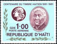 [Airmail - The 100th Anniversary of Stamps of Haiti, Typ TP1]