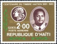[Airmail - The 100th Anniversary of Stamps of Haiti, Typ TQ1]