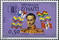 [The 200th Anniversary of the Birth of Simon Bolivar, 1770-1818, Typ UD]